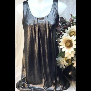 🌸Silver balloon Hemline sleeveless dress med
